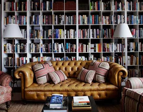 Home #Office OR Home #Library? Which Would You Prefer?➤ http://carlaaston.com/designed/home-office-or-library