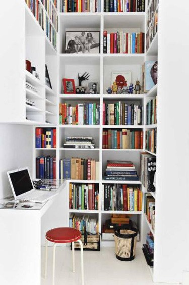Home office or home library which would you rather have for Mini library at home