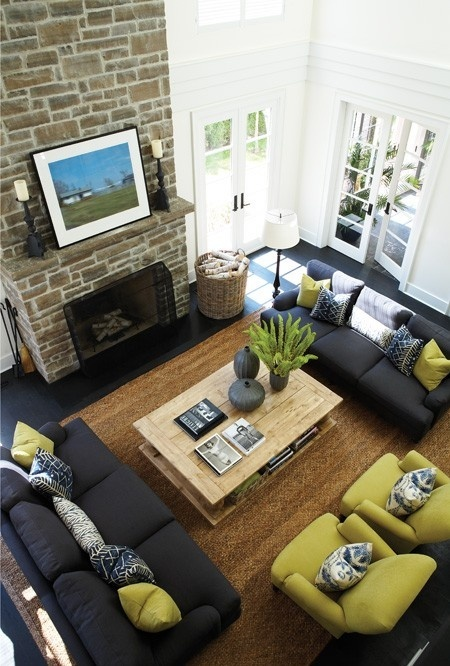 Why you should arrange two identical sofas opposite of each other designed w carla aston How to arrange a living room with 3 couches