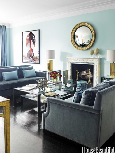Designers: Hillary Thomas and Jeff Lincoln, Image via: House Beautiful