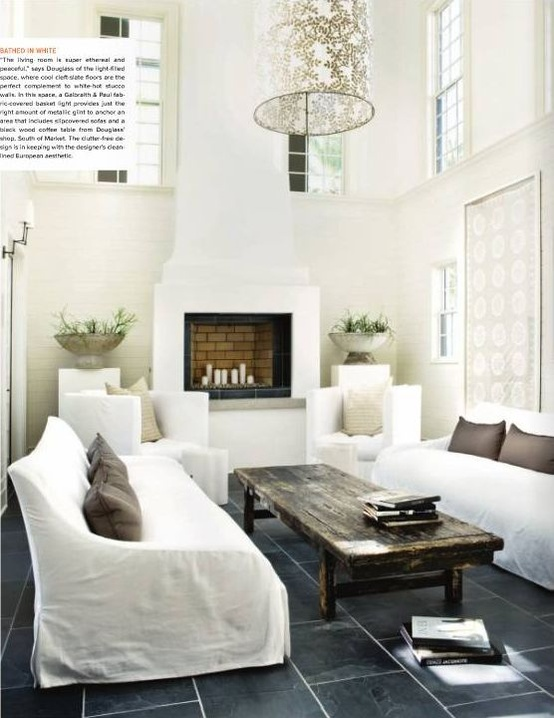 Designer: Kay Douglass, via:  Atlanta Homes Mag