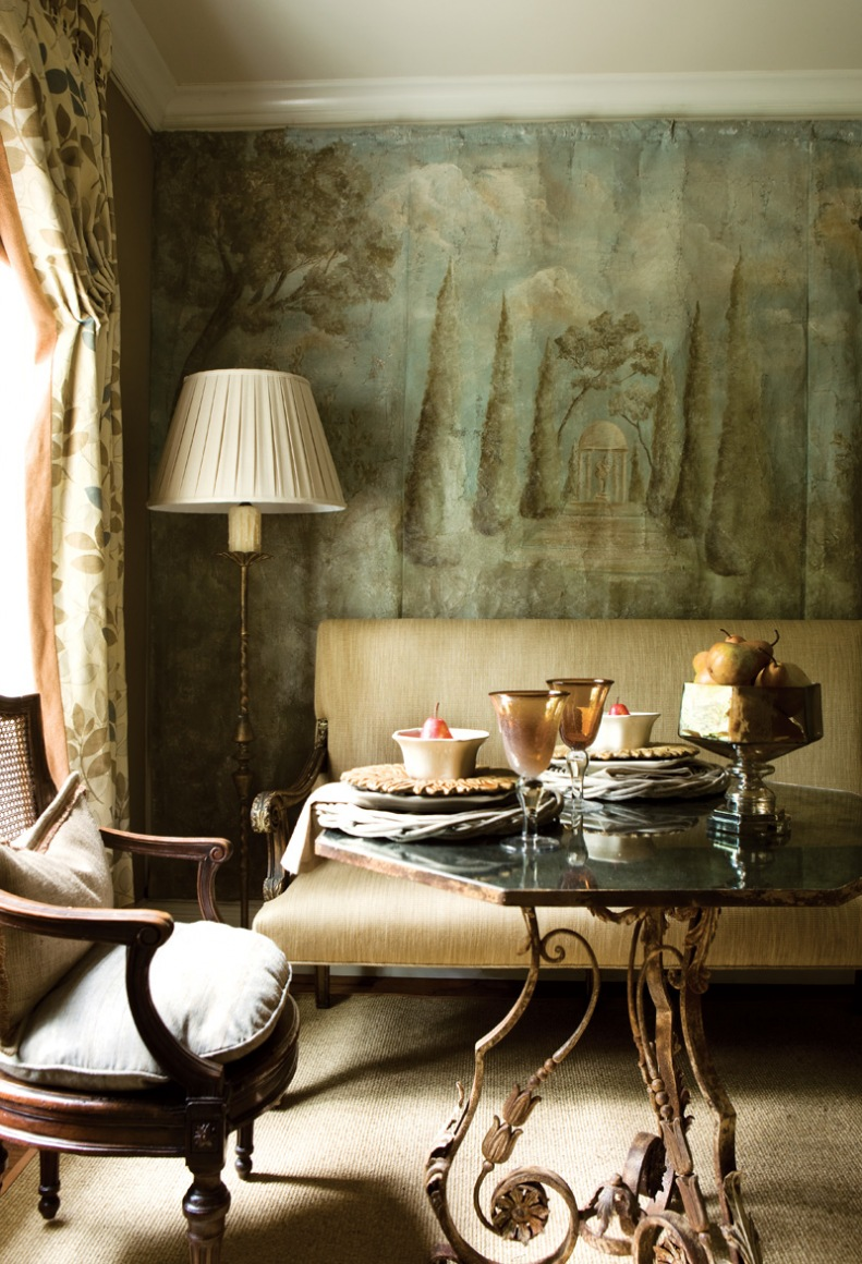 Interior Designer:  Kim Regas , Image via:  Atlanta Homes and Lifestyles