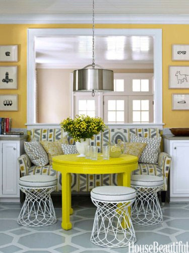 Designer:  Lindsey Coral Harper , Image via:  House Beautiful
