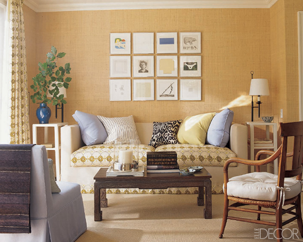 Should A Sofa Be Placed Up Against A Wall? Here's Your Answer ➤ http://CARLAASTON.com/designed/place-sofa-against-wall