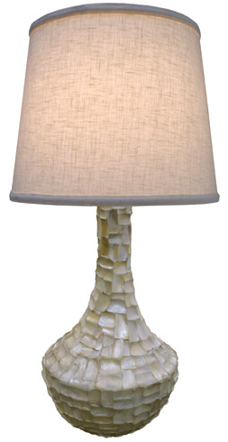 Capiz Shells | They're Funky, They're Elegant, They're ON-TREND. Here's Why ➤ http://CARLAASTON.com/designed/capiz-shells-on-trend-design