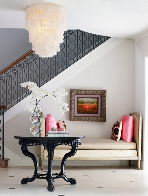 Capiz Shells | They're Funky, They're Elegant, They're ON-TREND. Here's Why ➤http://CARLAASTON.com/designed/capiz-shells-on-trend-design