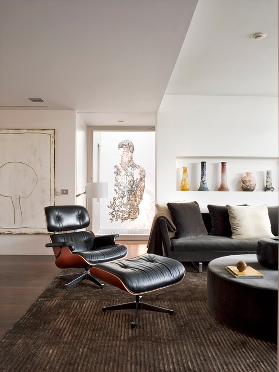 Forever A Classic, The Eames Chair Evolves Into A Black U0026 White Future ➤  Http