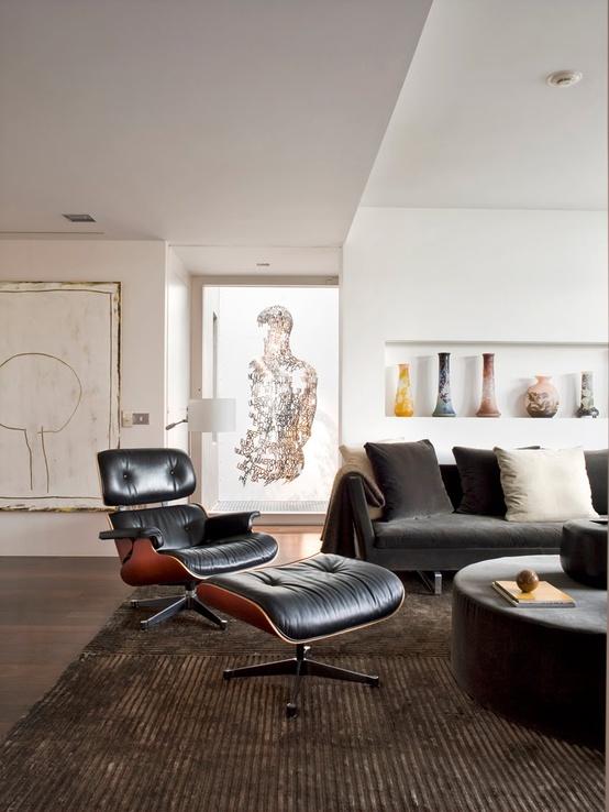 Forever A Classic, The Eames Chair Evolves Into A Black U0026amp; White  Futureu0026nbsp;