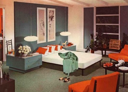 7 Major Interior Design & Decorating Trends Of The 1950s