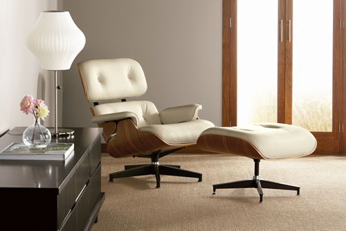 Forever a classic the eames chair has a white future - Adorable iconic furniture design adapts black and white color ...