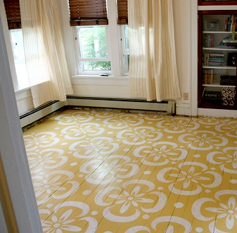 Cool Finds | Gorgeous Painted Floors
