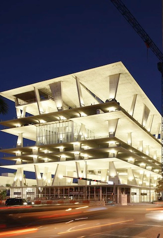 Herzog & De Meuron's INCREDIBLE Parking Garage