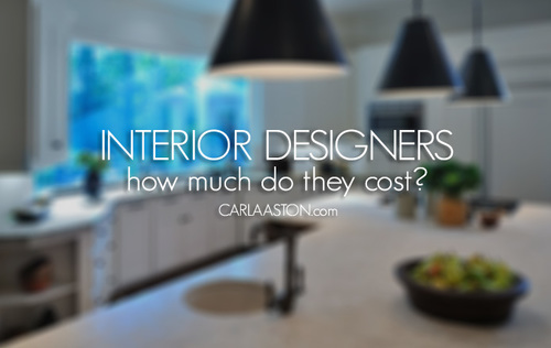 How Much Does It Cost To Hire An Interior DesignerYour Answers Here