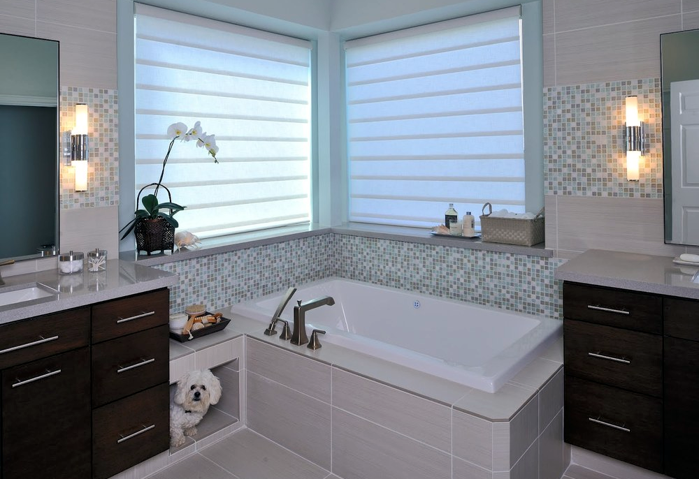 Regain your bathroom privacy natural light w this window - Best blinds for bathroom privacy ...