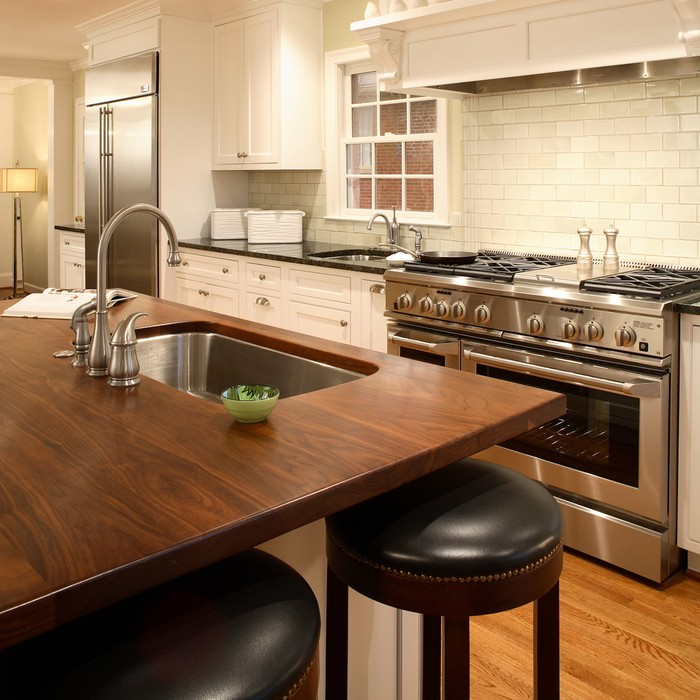 Image via:  J. Aaron Custom Wood Countertops