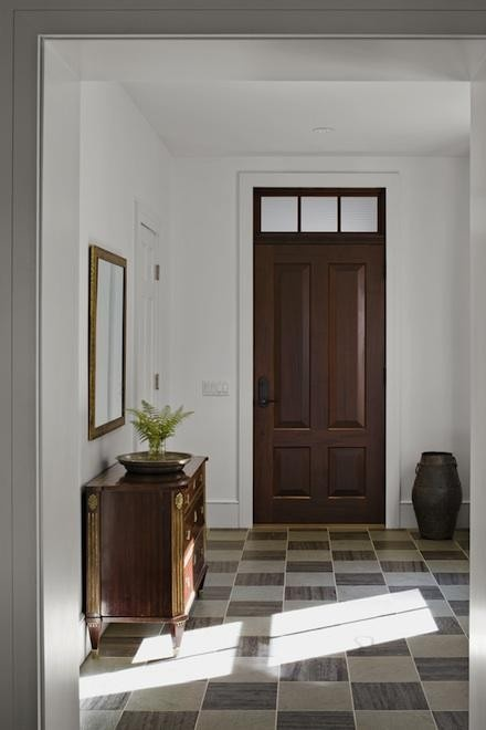 Wood Doors MUST Have Matching Wood Frames Mouldings Fact Or