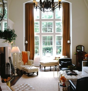 Decorating Rooms With High Ceilings how to decorate a room with high ceilings — designed