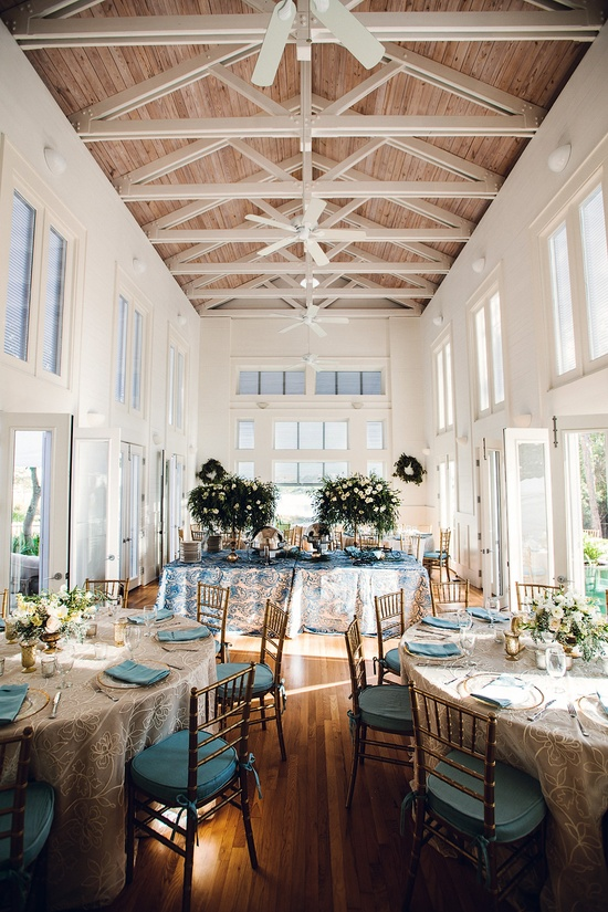 lighting for tall ceilings. image via 30a wedding co lighting for tall ceilings s