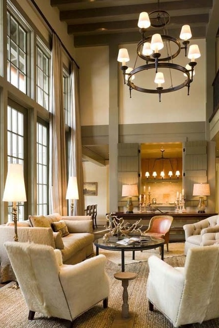 How To Decorate A Room With High Ceilings Designed W
