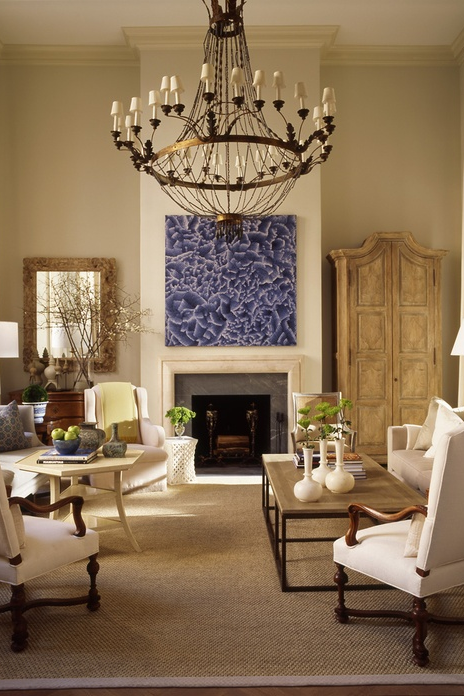 lighting for tall ceilings. mcalpine booth and ferrier interiors image via design chic lighting for tall ceilings r