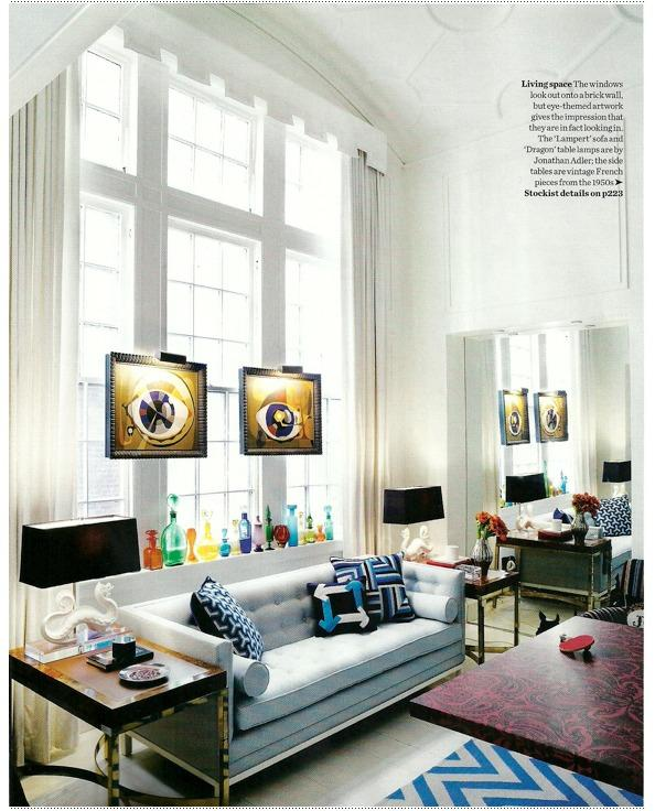 ARTICLE: How To Hang Art On A Window | EIGHT Successful Examples