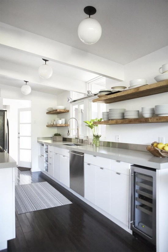 image via remodelista - No Backsplash In Kitchen
