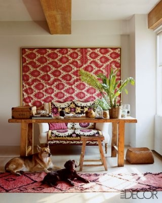 Image via: Elle Decor, Decorator: Gregory Bissonnette