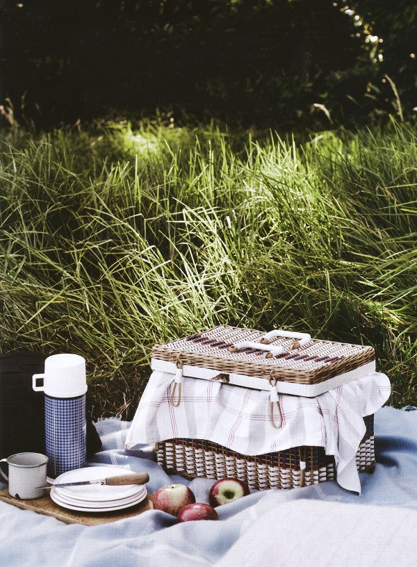 22 Summery, Serene Picnic Ideas  | Image via: Dustjacket Attic, Photographer: Prue Ruscoe