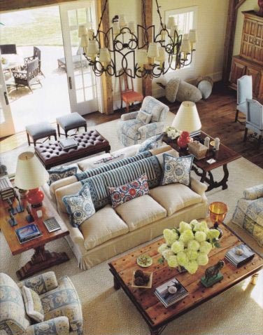 ARTICLE: Bring Back Intimacy in a Large Room with Back-to-Back Sofas