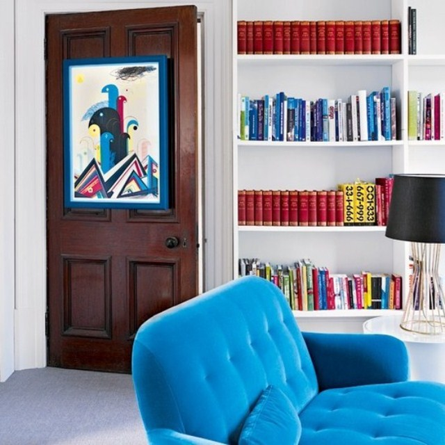 10 oddly perfect places to hang your framed art — designed