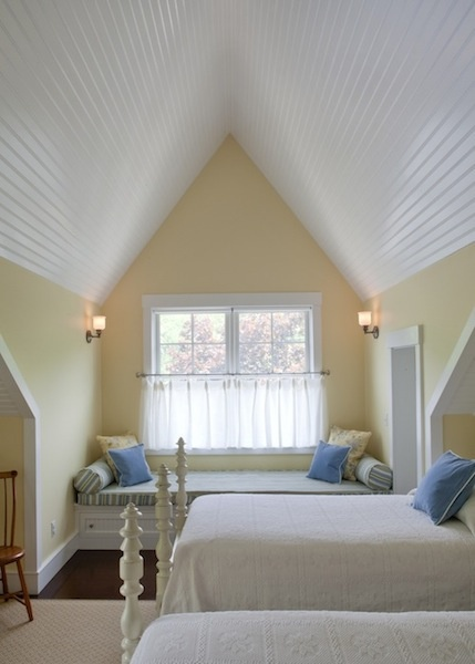 ARTICLE: 12 Low, Angled Ceilings Designed By Highly Skilled Designers