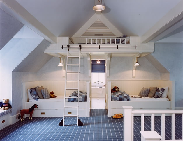 Items That Can Fit Under A Low Angled Ceiling A Bed   Bunk Beds For Low ...