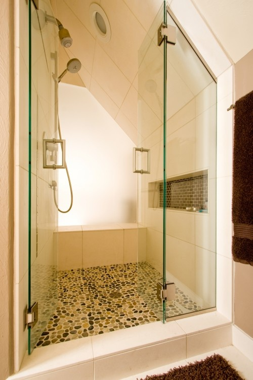 Lighting Basement Washroom Stairs: Items That Can Fit Under A Low, Angled Ceiling: A Bed