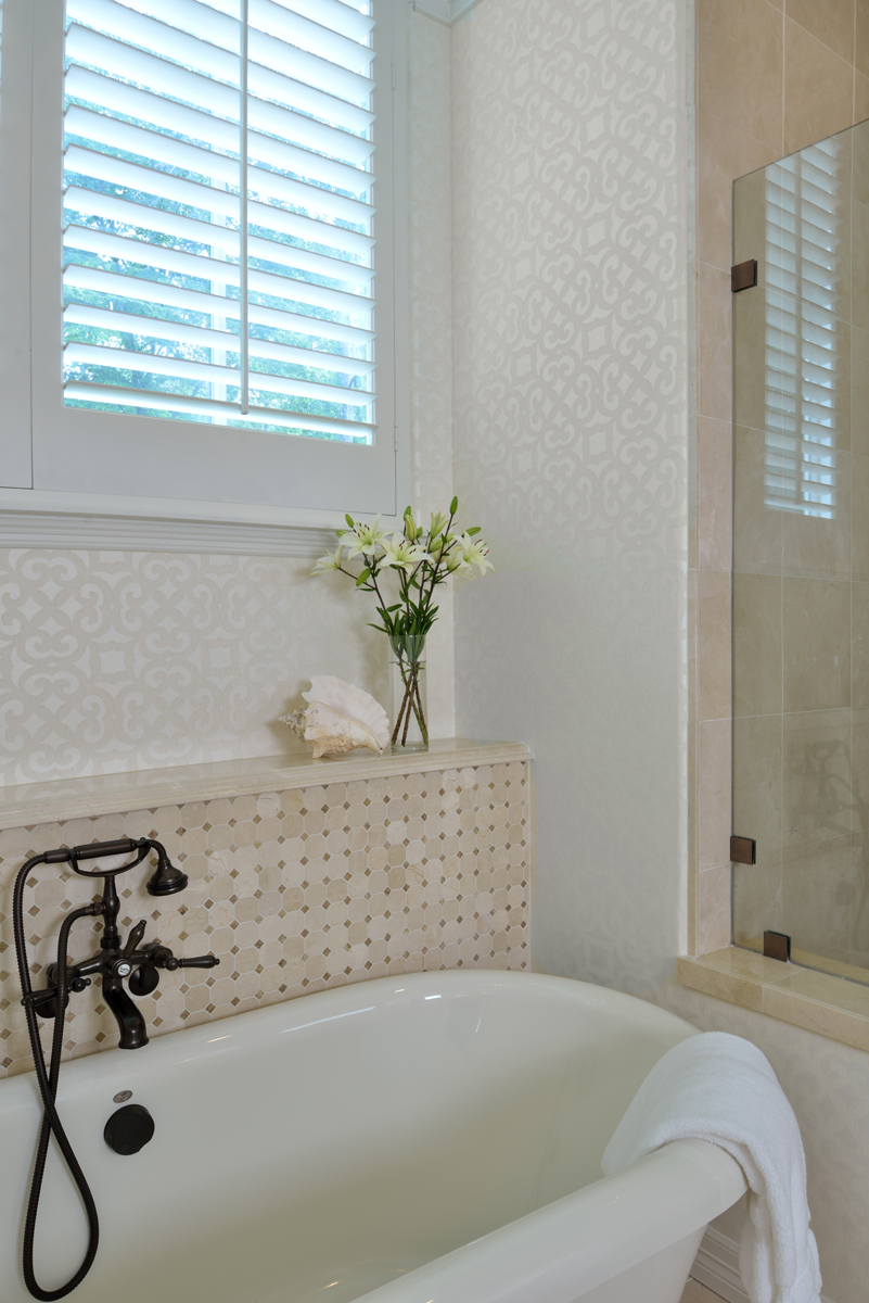 ARTICLE | Before & After | A Remodeled Bathroom DESIGNED by Carla Aston