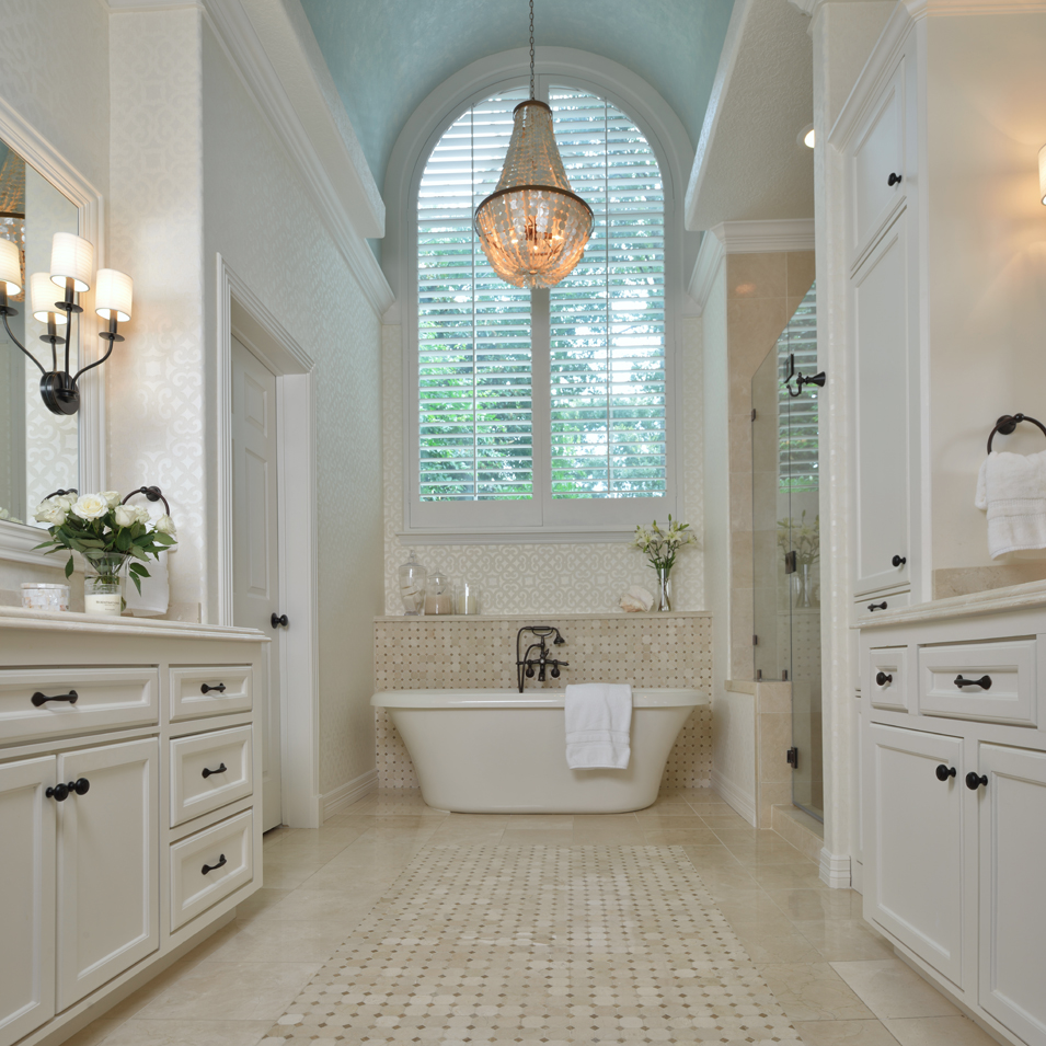 white master bathroom ideas before amp after a remodeled bathroom designed by carla 22737