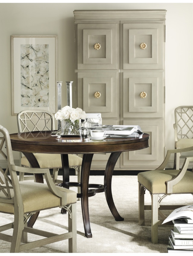 Designer: Suzanne Kasler, via  Hickory Chair