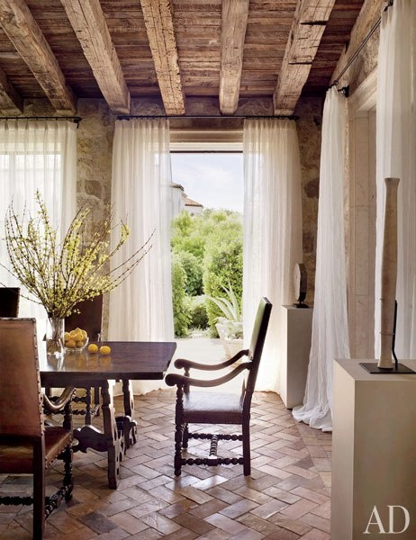 Designer: Atelier AM, Image via: Architectural Digest