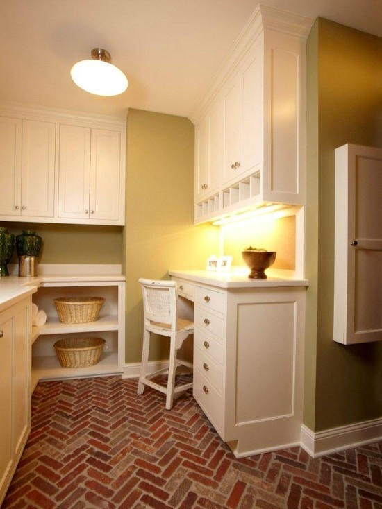 Brick Flooring: The Perfect Transitional Element for Bringing The ...
