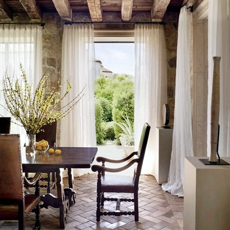 Brick Flooring: The Perfect Transitional Element For Bringing The Outdoors  In U2014 DESIGNED