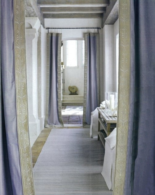ARTICLE & GALLERY | Finding The Vista In A Home | Image Source: John Saladino | CLICK TO ENJOY... http://carlaaston.com/designed/finding-the-vista | (KWs: hallway, wall, door, window)