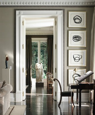 ARTICLE & GALLERY | Finding The Vista In A Home | Image Source: Luis Bustamante | CLICK TO ENJOY... http://carlaaston.com/designed/finding-the-vista | (KWs: hallway, wall, door, window)