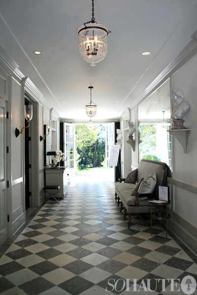 ARTICLE & GALLERY | Finding The Vista In A Home | Image Source: So Haute &  House of Windsor  | CLICK TO ENJOY... http://carlaaston.com/designed/finding-the-vista | (KWs: hallway, wall, door, window)
