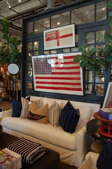 Image via: caitlincreer.com, Shop: Justapostion Home | (4th of July, American flag)