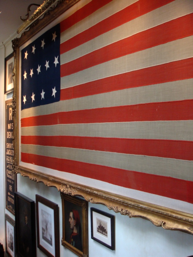 Ralph Lauren store in Paris, Image via: Check Your Paris | (4th of July, American flag)