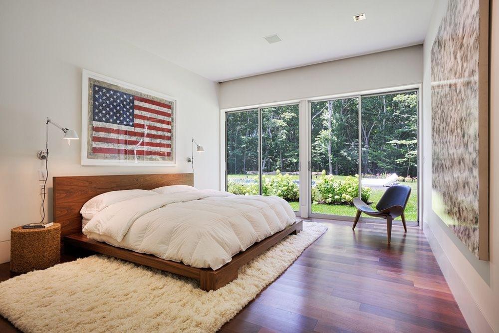 Image via:  ArchDaily ,  Bates Masi Architects |#4thofJuly #Americanflag