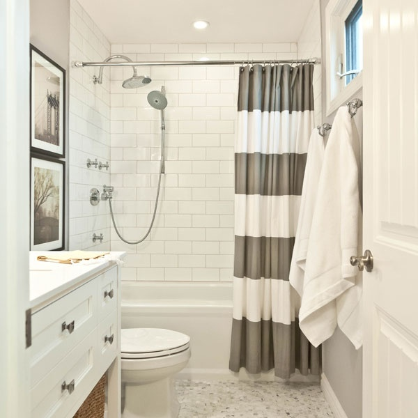 Is A One Minute Bathroom Remodel Possible Stunning Shower Curtains