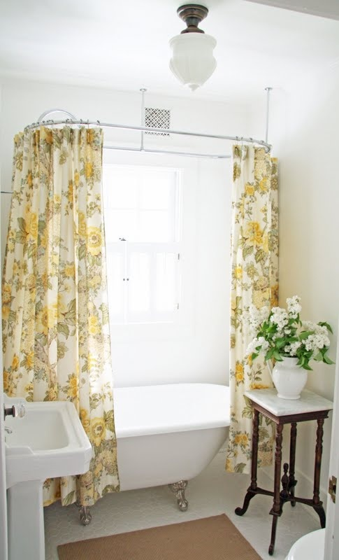 Is a One Minute Bathroom Remodel Possible? Stunning Shower Curtains ...