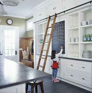ARTICLE + GALLERY: Rolling Ladders Aren't Just Resourceful - They're Almost Sculptural! | Take a Look...