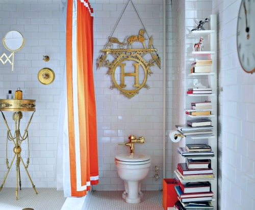 Image via:  House and Home , From  Decorate  by Holly Becker and Joanna Copestick, Jonathan Adler, Designer