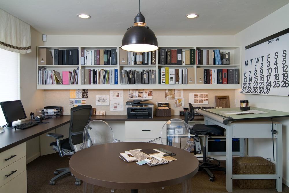 My first design studio, Stendig Calendar on the wall.